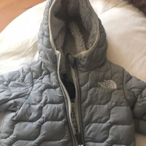 The north face baby snow suit
